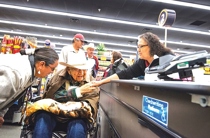 Bashas stores announced early hours on the reservation to support elders ability to shop. (Photo courtesy of Bashas)