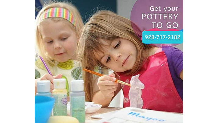 """Pick up a """"Pottery To Go Kit"""" at Jarz of Clay, 3250 Gateway Blvd. in Prescott and have some fun working with clay at home. (Jarz of Clay)"""