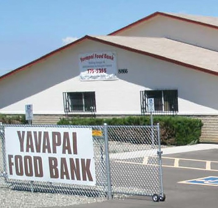 The Yavapai Food Bank is doing what it can to help those in need during the coronavirus threat. (Yavapai Food Bank/Courtesy)