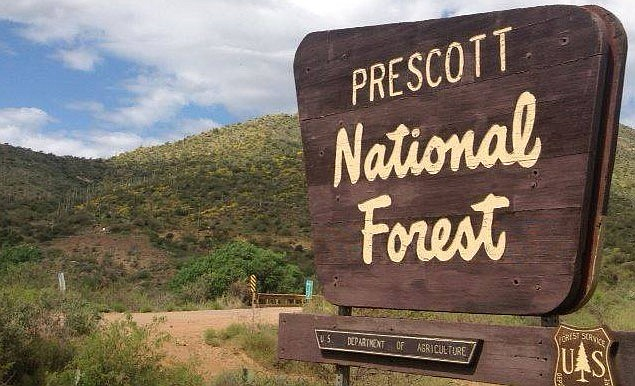 The Prescott National Forest began an orderly closure of developed recreation sites on Monday, March 23, to protect public health and safety and to align with state and local measures already in place to contain the COVID-19 outbreak. (Courier, file)