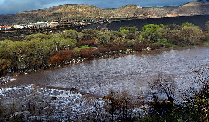 A woman drowned in the Verde River while floating on a paddle board between the Lower TAPCO access point and Tuzigoot Bridge in Clarkdale on Saturday, according to Clarkdale Mayor Doug Von Gausig. File photo