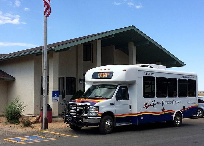 Yavapai Regional Transit bus. (Courtesy)