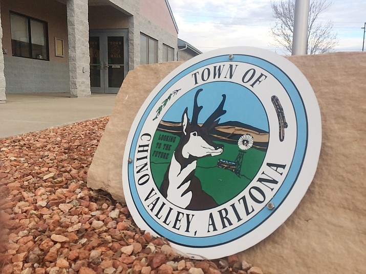 The Town of Chino Valley offices are open, but four employees recently tested positive for COVID-19. (Courier, file)