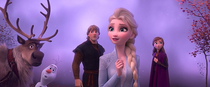 Kristen Bell and Jonathan Groff in 'Frozen II' (Walt Disney Studios Motion Pictures)