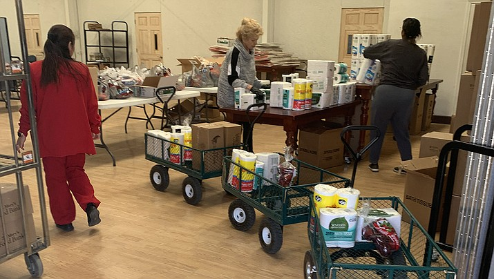 The Adventist Community Services Food Bank, 3180 White Cliffs Road, is open on Tuesdays from 9 a.m. to 2 p.m., and Sundays from 9 a.m. to 2:30 p.m. (Adventist Community Services Food Bank courtesy photo)