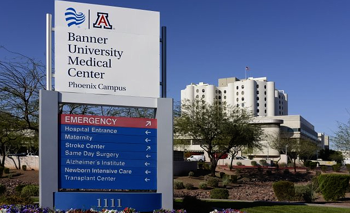 Wednesday, Gov. Doug Ducey on Wednesday ordered Arizona hospitals to come up with plans to increase bed capacity by 50 percent within the next month and actually have half of those ready to go by April 10 (File photo)