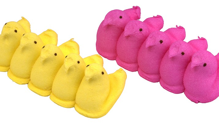 Peeps, an Easter staple at many American homes, will be available this year. (Photo by Evan Amos/ public domain)