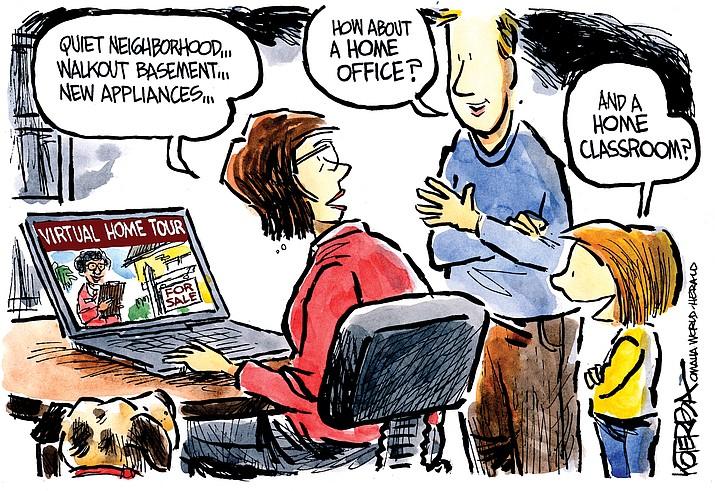 Editorial cartoon (2): March 28, 2020
