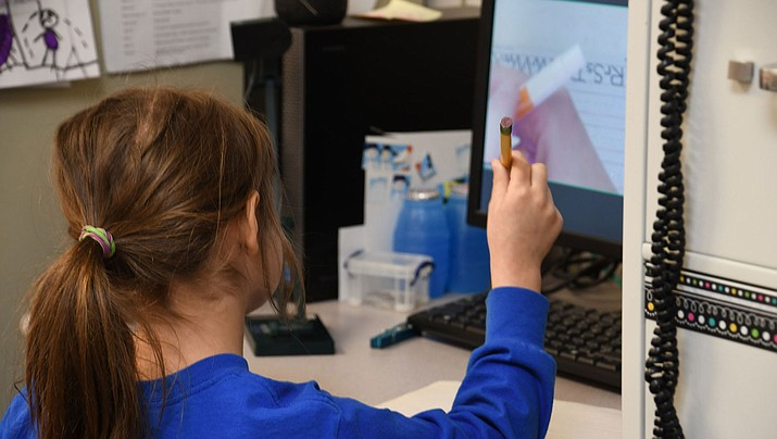 A number of Kingman-area students are adjusting to distance learning during the pandemic. (Miner file photo)