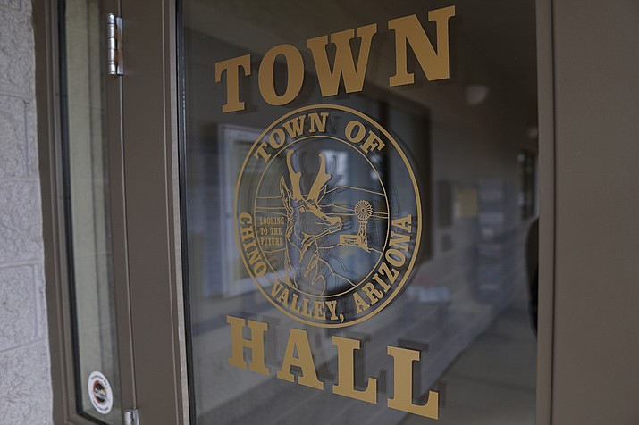 Town Hall in Chino Valley. (Aaron Valdez/Review)