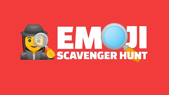 "Looking for something active to do? Check out the ""Emoji Scavenger Hunt"" made with some friends at Google."