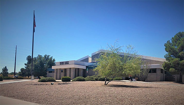 The Mohave County Library Kingman Branch is closed to the public, but able to provide help with acquiring library cards, and accessing a wide variety of online services using a  library card. (Miner file photo)