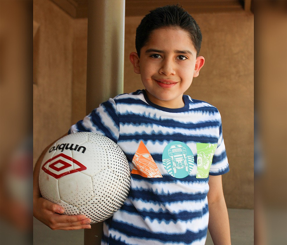 "Cristos is a bright child.  His favorite subject in school is science.  He dreams of being a scientist or engineer when he grows up.  Cristos shares that he wants to ""build cool stuff"" like a hover copter and a hover jet. Cristos likes to write books and dreams of visiting the future. Get to know Cristos at https://www.childrensheartgallery.org/profile/cristos, and other adoptable children at the childrensheartgallery.org.."