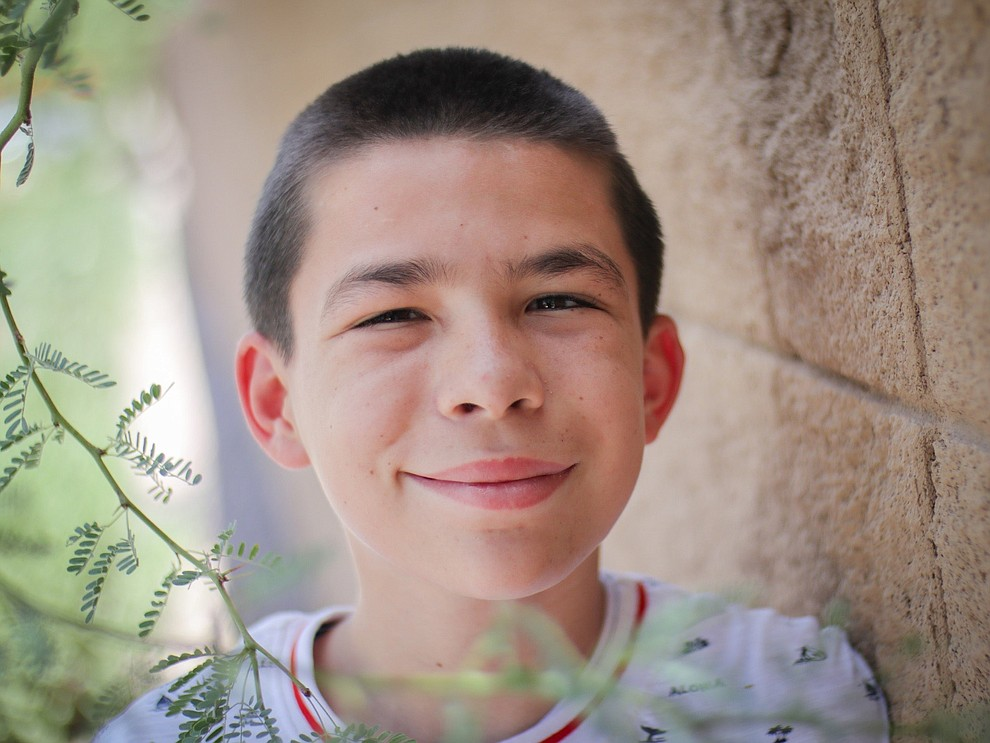 "Manny enjoys doing yoga, jumping on the trampoline and jumping rope. When asked what Manny wants to do when he grows up, he proudly shares that like he would like to be a ""mail man!"" Manny's favorite subjects in school are reading and math.  Get to know Manny at https://www.childrensheartgallery.org/profile/manny-b, and other adoptable children at the childrensheartgallery.org.."
