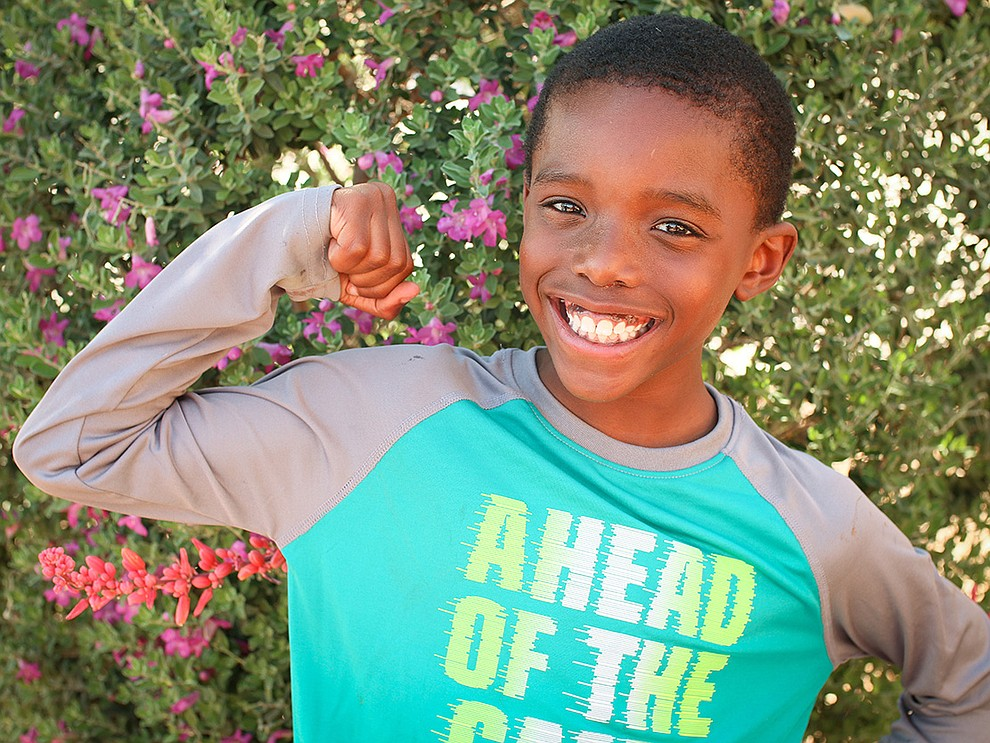 You can find Romeo dancing to songs around the house, watching Spongebob Squarepants or playing basketball..Some of Romeo's favorite foods are cheese pizza and Panda Express.  He enjoys playing football and watching his favorite team- the Arizona Cardinals. Get to know Romeo at https://www.childrensheartgallery.org/profile/romeo, and other adoptable children at the childrensheartgallery.org..