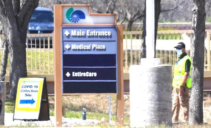Thursday, Northern Arizona Healthcare announced that its COVID-19 specimen collection site at Verde Valley Medical Center would be closed on Friday, April 3 and would be open from 9 a.m. until 3 p.m. Mondays and Thursdays beginning April 6. VVN/Vyto Starinskas