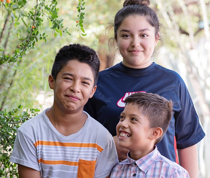 Meet 3 siblings who love spending time together! Angel enjoys staying active. His favorite activities include hiking, hunting, fishing and playing soccer. Miguel likes to play basketball and jump on the trampoline. He enjoys learning about technology and programming. One day he would like to be a computer programmer. Teresita's talents include singing, dancing and drawing. Her favorite musician is Billie Eilish. She enjoys making her friends laugh. Her future plans include enlisting in the military after high school. Get to know Angel, Miguel, Teresita and other adoptable children at the childrensheartgallery.org. (Courtesy)