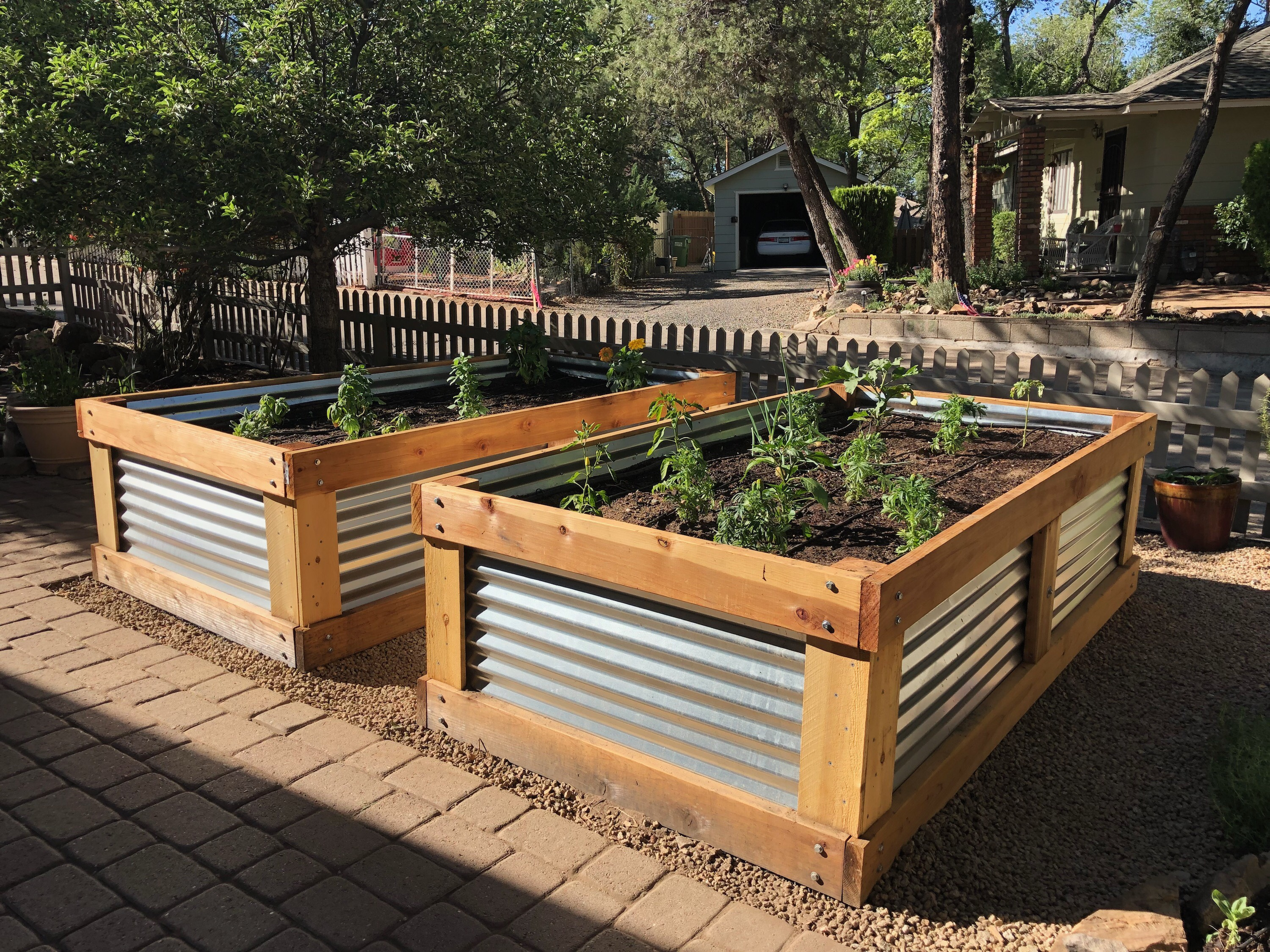 Picture of: Backyard Gardener Raised Flower Bed Construction Can Last For Years The Daily Courier Prescott Az