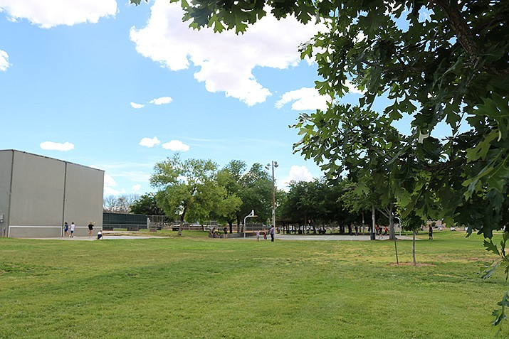While parks themselves will remain open, their amenities that don't allow for the recommended physical distancing of 6 feet, or proper hygiene, will cease operations by 5 p.m. Saturday, April 4. Those include basketball courts, splash pads, playgrounds and public restrooms. (Miner file photo)