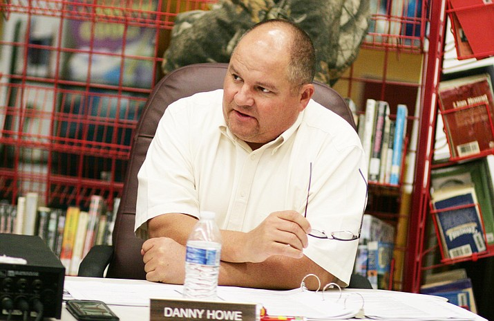 Tuesday in executive session, the Camp Verde School Board is expected to negotiate a contract with Danny Howe, administrator-in-charge. VVN/Bill Helm