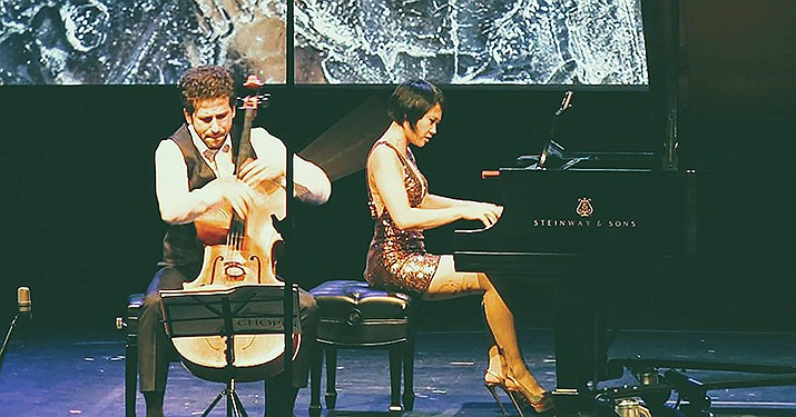 Nick Canellakis and Yuja Wang perform. Canellakis, Chamber Music Sedona's second-year director, lives in New York City part of the year, where he says it's a frightening time for musicians, He is in the process of setting up a way for visiting artists to conduct some type of group video tutorials on specific instruments, such as the violin, the viola and the cello.