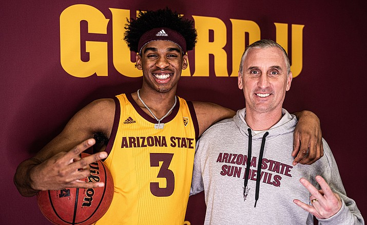 Josh Christopher is the highest ranked recruit Arizona State basketball has ever landed. (Photo courtesy Josh Christopher Twitter)
