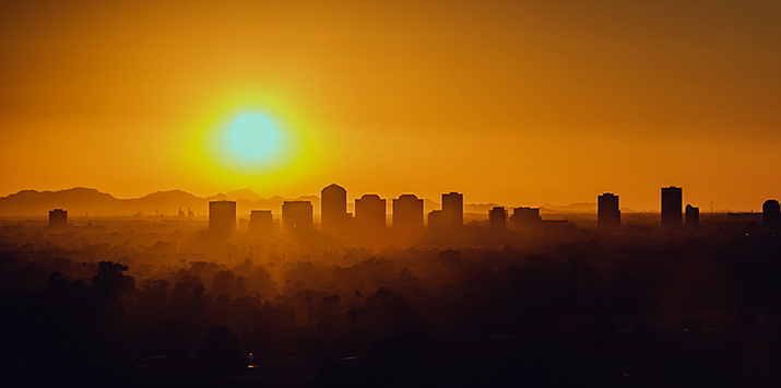 Virologists aren't sure whether Phoenix's summer swelter will be enough to suppress the novel coronavirus. (Photo by Jordan Evans/Cronkite News)