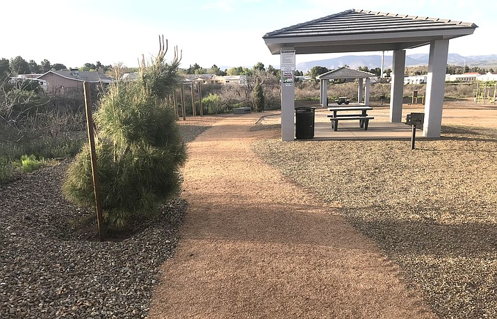 Copper Penny Park, located on the northwest corner of Old Jerome Highway and Mescal Spur, will be maintained for three years by developer PTM Enterprises, per an agreement approved Tuesday by the Clarkdale Town Council. VVN/Jason W. Brooks
