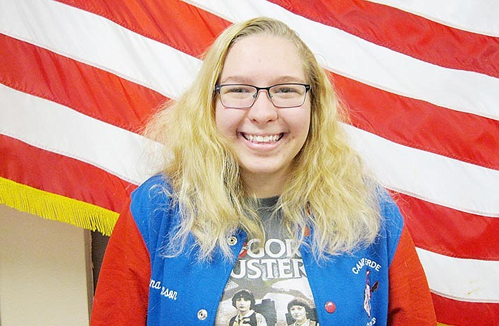 Celeena Johnson, a student at Yavapai College, was named 2020 Gold Scholar for the Coca-Cola Academic Team. Courtesy photo