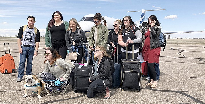 Nurses from Banner Health's hospitals in metro Phoenix arrive in northern Colorado to help with the COVID-19 pandemic. (Photo courtesy of Banner Health)
