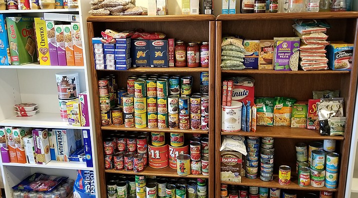 The Village of Oak Creek Community Church of the Nazarene (VocNaz) has a food pantry, recently restocked and expanded thanks to the generosity of Old Town Mission, the efforts of Dwight and Andrea Kadar, the Johnsons through their Cleaner Quicker Car Wash and many others in our community. Courtesy photo