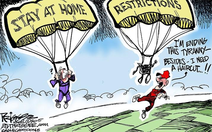 Editorial cartoon (1): April 26, 2020