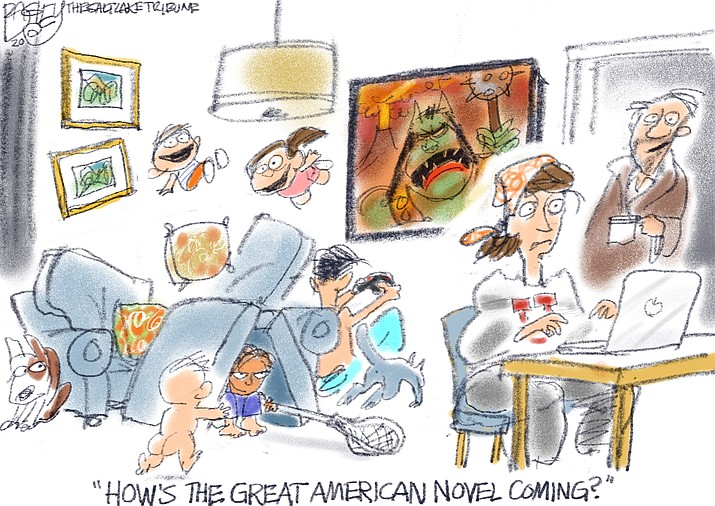 Editorial cartoon (1): April 27, 2020