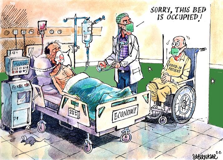 Editorial cartoon (2): April 28, 2020