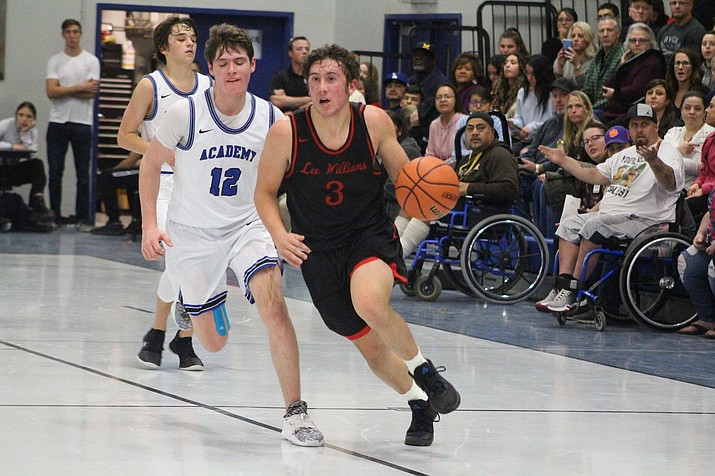 Kade Juelfs, a senior at Lee Williams High School, will be playing college basketball in the highest collegiate gym in the land. (Miner file photos)