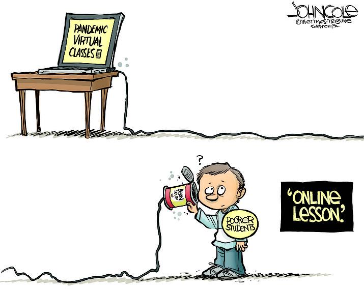 Editorial cartoon (1): April 29, 2020