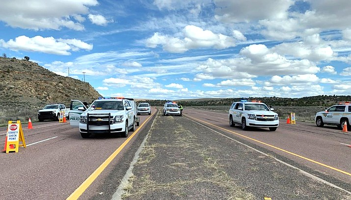 The Navajo Nation is implementing another 57-hour curfew for the Nation starting at 8 p.m. May 1- 5 a.m. May 4. (Photo/OPVP)