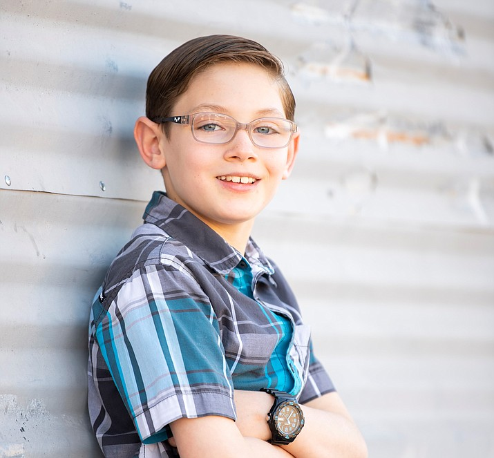 Peyton is fun loving, intelligent and full of energy. Peyton loves to ride his bike, scooter and skateboard. (Courtesy)