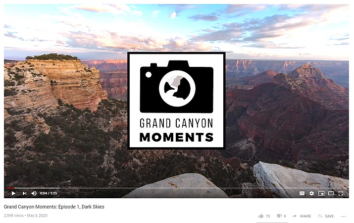 Experience Grand Canyon virtually with a new video series, Grand Canyon Moments. (Screenshot/YouTube, Grand Canyon Conserverancy)