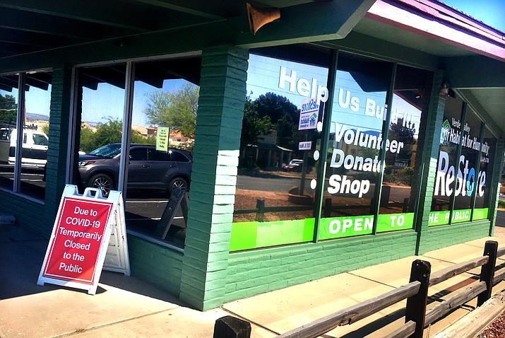 The ReStore on Main Street in Cottonwood will reopen Monday. VVN/Vyto Starinskas