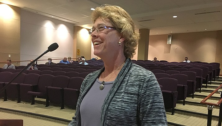 Denise Burley, Mohave County public health director, revealed Thursday, May 7 that some Mohave County employees have tested positive for COVID-19. (Miner file photo)