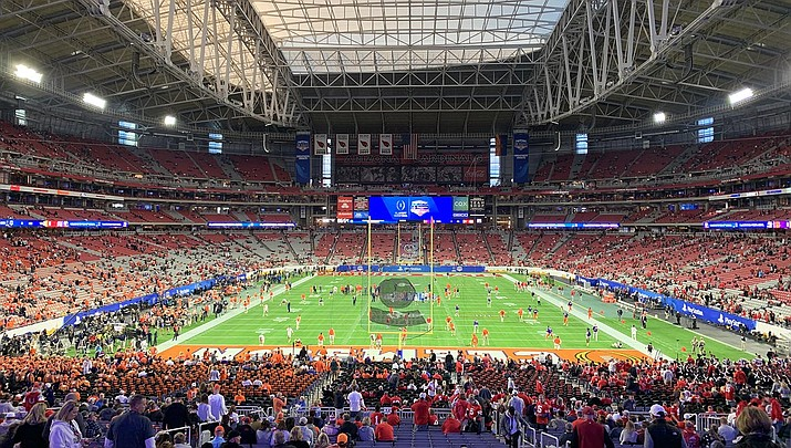 The NFL is formulating a ticket refund policy for games that may be canceled or held without fans in the stands. (Photo by Blervis, cc-by-sa-4.0, https://bit.ly/2WbhSMG)