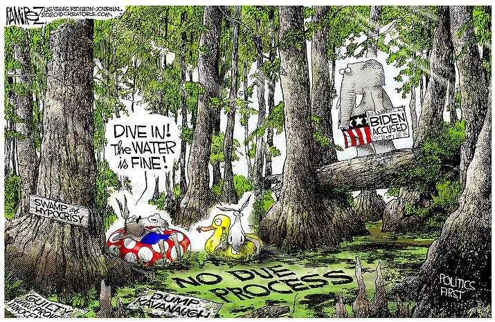 Editorial cartoon (2): May 10, 2020