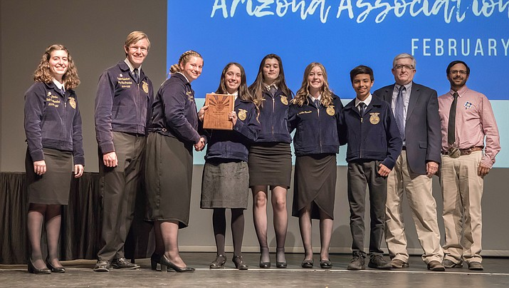 Aaec Prescott Valley Ffa Chapter Takes Top Honors At Career Development Event The Daily Courier Prescott Az