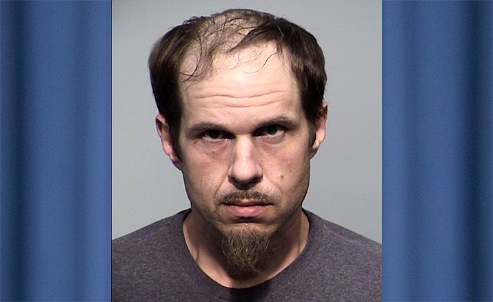 Brandon Vincent Duniec, 38, a registered sex offender and violent predator in the National Crime Information Index, was arrested May 2 after he allegedly attempted to solicit sex from three juveniles ages 11, 14 and 15. (PVPD/Courtesy)