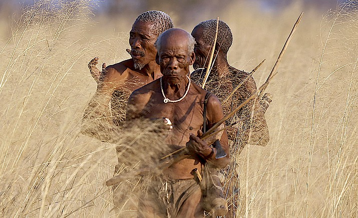 The Last Tribes – The hunter-gatherer life cycle survives as the Ju'/Hoansi San tribe honors their traditional lifestyle.