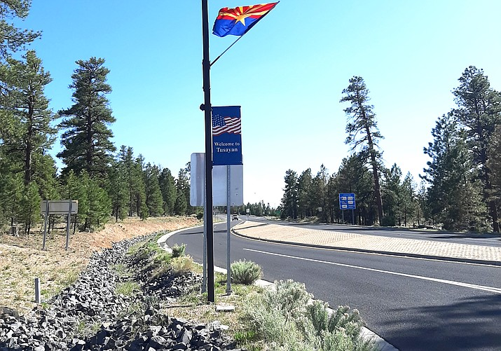 In rural areas, such as Grand Canyon Village, Valle and Tusayan internet access can be hard to come by. (Abigail Kessler/WGCN)