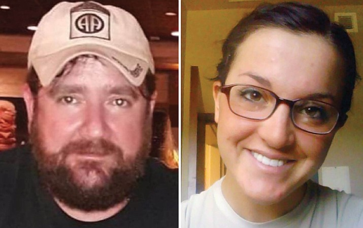 David Batten, left, and Elissa Landry were last seen alive April 19. Call Yavapai Silent Witness at 800-932-3232, or visit yavapaisw.com, if you have information related to this case. (YCSO/Courtesy)