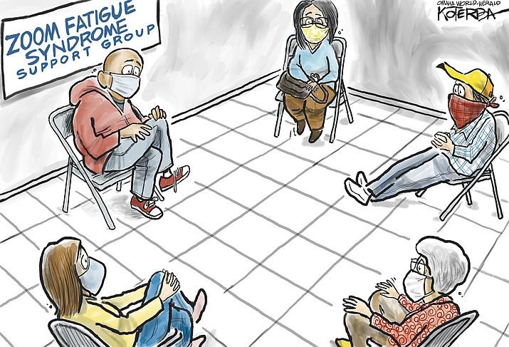 Editorial cartoon (2): May 13, 2020