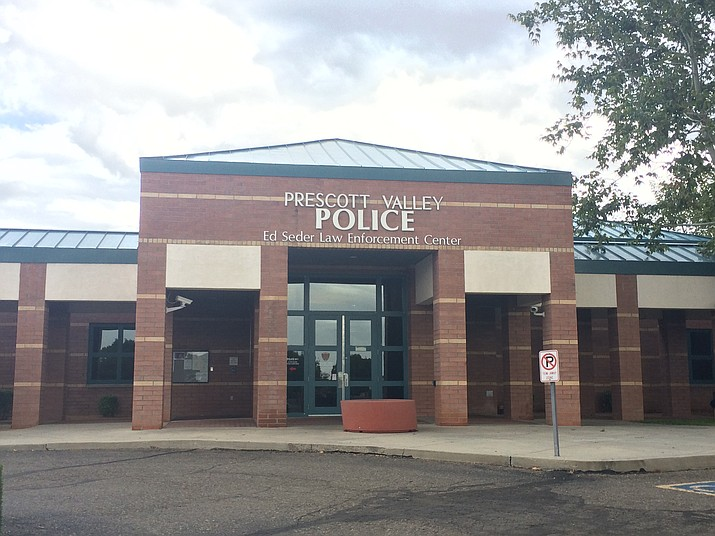 The Prescott Valley Police Department, 7601 E. Skoog Blvd., has reopened its lobby with the provisions put in place to protect visitors and staff from the COVID-19 pandemic. (Tribune file)